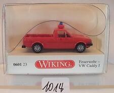 Wiking 1/87 0601 23 VW Caddy 1 Feuerwehr neutral OVP #1014