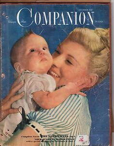 1947 Womans Home Companion November - Wyndmoor PA house;What makes children fat?