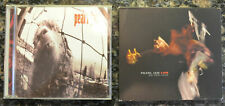 LOT of (2) PEARL JAM CD's (Vs. & Live on Two Legs)