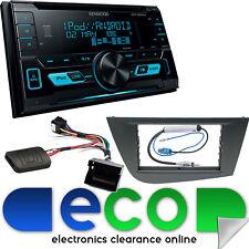 SEAT Leon MK2 2005-09 Kenwood D-DIN CD AUX MP3 Frontal-usb coche estéreo kit de montaje