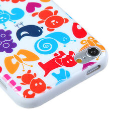for iPod Touch 5th / 6th Gen - CUTE ANIMAL TPU Hard Gummy Rubber Skin Case Cover