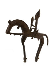 Cavalier Dogon Bronze du Mali Art Africain -23 cm  AA 1137
