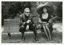 """Marcello MASTROIANNI et Sophia LOREN"" Carte postale Photo Constant Anée (1997)"