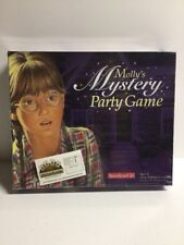 American Girl Molly's Mystery Party Board Game Complete!