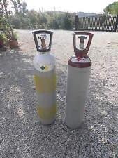 Coppia bombole   Ossigeno Acetilene 14 lt