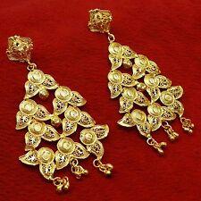Earrings Ethnic Women Wedding Jewelry New Indian Traditional Goldplated Dangle