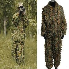 2PCS Utility Hunting Camo Camouflage Clothing Leafy Woodland Hunting  Jungle MA
