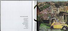 CLAUDIO BAGLIONI CD digipack GIRA CHE TI RIGIRA AMORE BELLO made in ITALY RCS