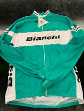 BCM Bianchi Long Sleeve Cycling Jersey- Green- Multiple Sizes