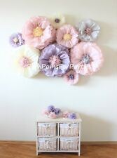 10 mixed size Giant blooms Dusty lilac Dusty pink Ash pink Blush centerpieces