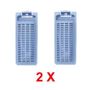 2X Washing Machine Lint Filter For HAIER  HWT70AW1 HWT60AW1 HWT80AW1 HWMSP70