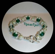 Toggle Beauty Crystal Costume Bracelets