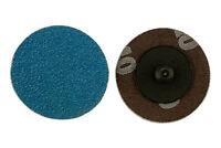Original Abracs Schnellverschluss Schleifscheiben 50mm x P60 25 Stück Connect