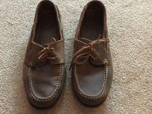 Clarks Brown Leather Mens Deck/boat Shoes UK 8 Eur 41/42