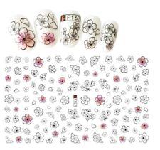 3D Daisy Flower Nail Art Sticker Self Adhesive Decorations