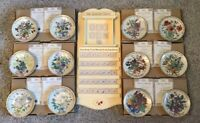 Davenport Pottery The Country Diary Of An Edwardian Lady Plate Set And Calender