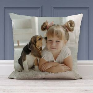 Personalised Pillow ➖NEW➖Custom Cover Cushion Gift✖️FREE WW DELIVERY✖️CHEAPEST✖️