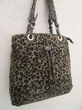 AUTHENTIC handbag FUCHSIA velvet corduroy TBEG vintage bag