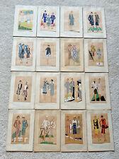 (16) Tres Parisien fashion magazine pochoir lithograph vintage 20's French Art D