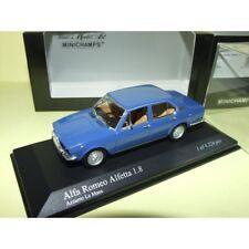 ALFA ROMEO ALFETTA 1.8 1972 Bleu Azzuro Le Mans MINICHAMPS 1:43