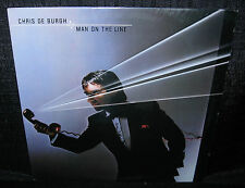 CHRIS de BURGH Man On The Line (1984 U.S. 10 Track LP w/Picture/Lyric Insert)