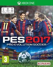 Xbox One Spiel PES 2017 Pro Evolution Soccer 17 Fußball Spiel NEU