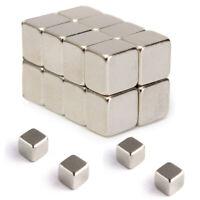 20PCS 5X5X4MM N52 Stark Quadrat Seltenerd Neodym Kühlschrankmagnete Block Nice