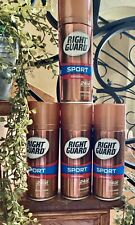 4 X Right Guard Sport Up  To 24 HR Odor Portection