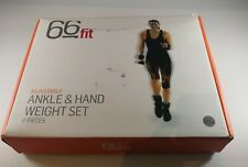 66fit adjustable ankle & hand weight set 6 Pieces