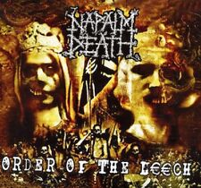 Napalm Death ‎- Order Of The Leech LP - Sealed new copy Grindcore Death Metal