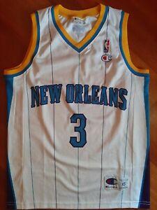 Chris Paul Champion XS NBA basketball rookie jersey canotta New orleans hornets