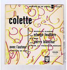 LP 25 CM COLETTE (PORTRAIT DE SIDO)EDWIGE FEUILLERE PIERRE BLANCHAR F.HEBRARD