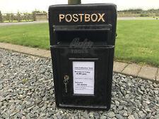 Postbox Letter Post Box - Cast Iron Black - Medium