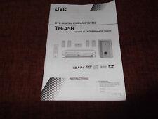 JVC DVD Digital Cinema System TH-A5R manual de instrucciones