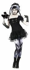 Frankies Bride Costume for Adult size S/M (2-8) New by Fun World 123464
