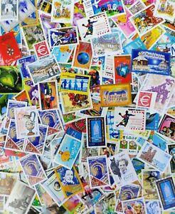 France Neufs Lot 100 timbres en Euros à 0,46 € Affranchissement Sous Faciale