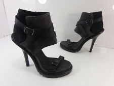 Women's Kenneth Cole Red Light Leather Sandals Black Size 7 M