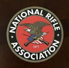 "NRA 3"" National Rifle Association of America waterproof Decal bumper sticker"