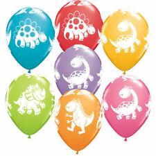 "Dinosaur Cute Dino 10"" Latex Balloons Children's Party Dinosaurs Balloon UK"