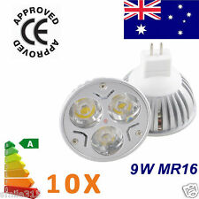 8 X MR16 9W CREE LED Bulb Globe Downlight Spotlight Lamp 12V DIMMABLE Cool White