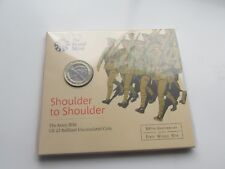 "2016 UK £2 coin. ""THE ARMY"". Mint/sealed. 100th anniversary of WW1"