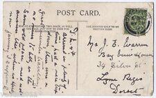 Ivybridge, Plymouth, Devon, England vintage Postcard - 1912