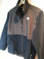 The North Face Denali Dark Blue Black Fleece Polartec Boys XL Coat Jacket Ski