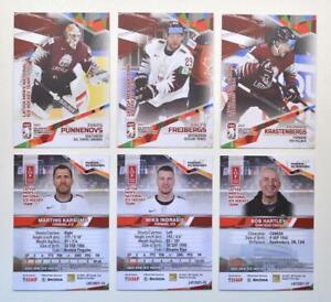 2021 BY cards IIHF World Championship Team Latvia Pick a Card