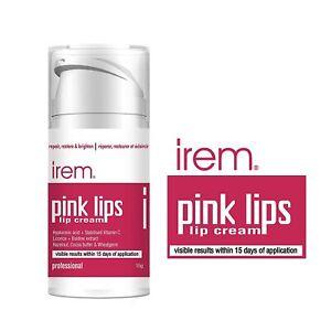 Irem Pink Lips - Lip cream Repair restore and brighten lips. With Vitamin C- 15g