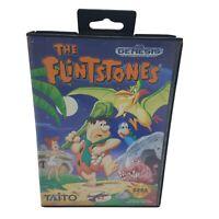 CIB The Flintstones (Sega Genesis, 1993) COMPLETE IN BOX - Cleaned & Tested