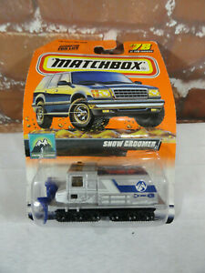 Vtg Matchbox NOS *SNOW GROOMER* 99edition~Detailed~ho Train~Collector