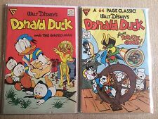 Lot of 2 Walt Disney's Donald Duck: Issues 246 and 250. Carl Barks classics