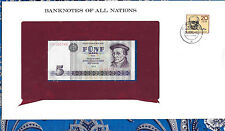 *Banknotes of All Nations GDR East Germany 1975 5 Mark UNC P 27a IH003746 Low*