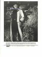 WILLIE NELSON: THE BIG 6-0 BIRTHDAY MAY 1993 ORIGINAL PRESS CANADA 8x10 PHOTO